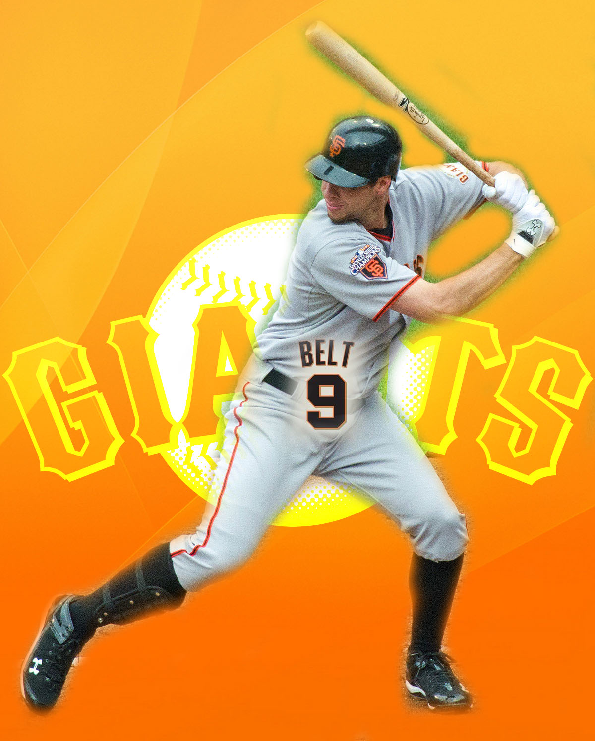 Brandon Belt On Fire For The San FranciscoGiants